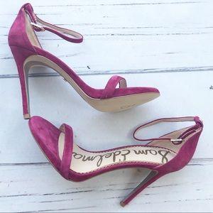 Sam Edelman Ariella Strap suede leather sandals